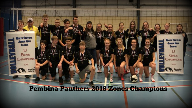 Congratulations to our Volleyball Teams – 2018 Zones Champions!