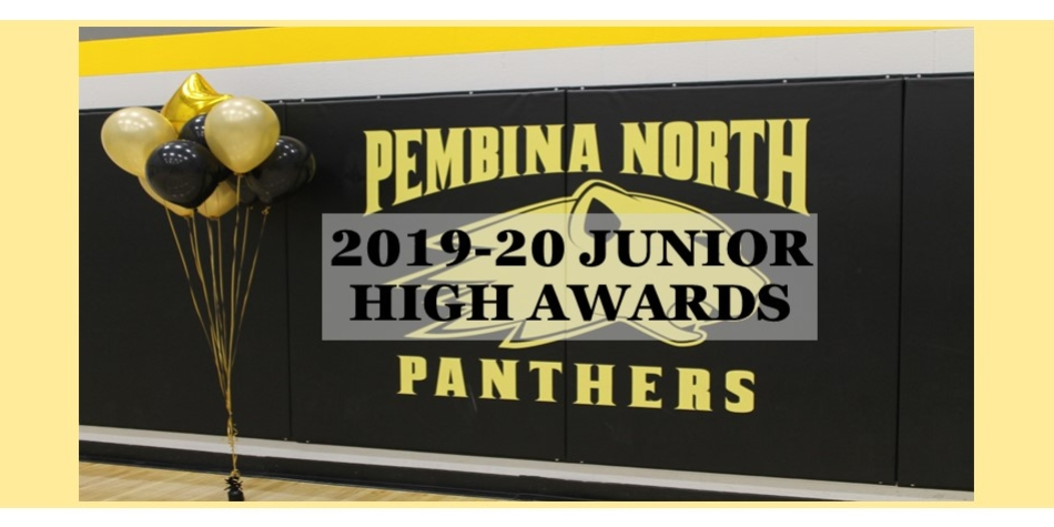 Junior High Awards for 2019-20