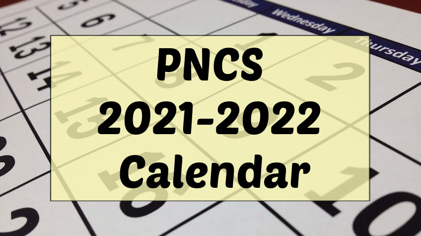 Pembina North School Calendar for 2021-2022